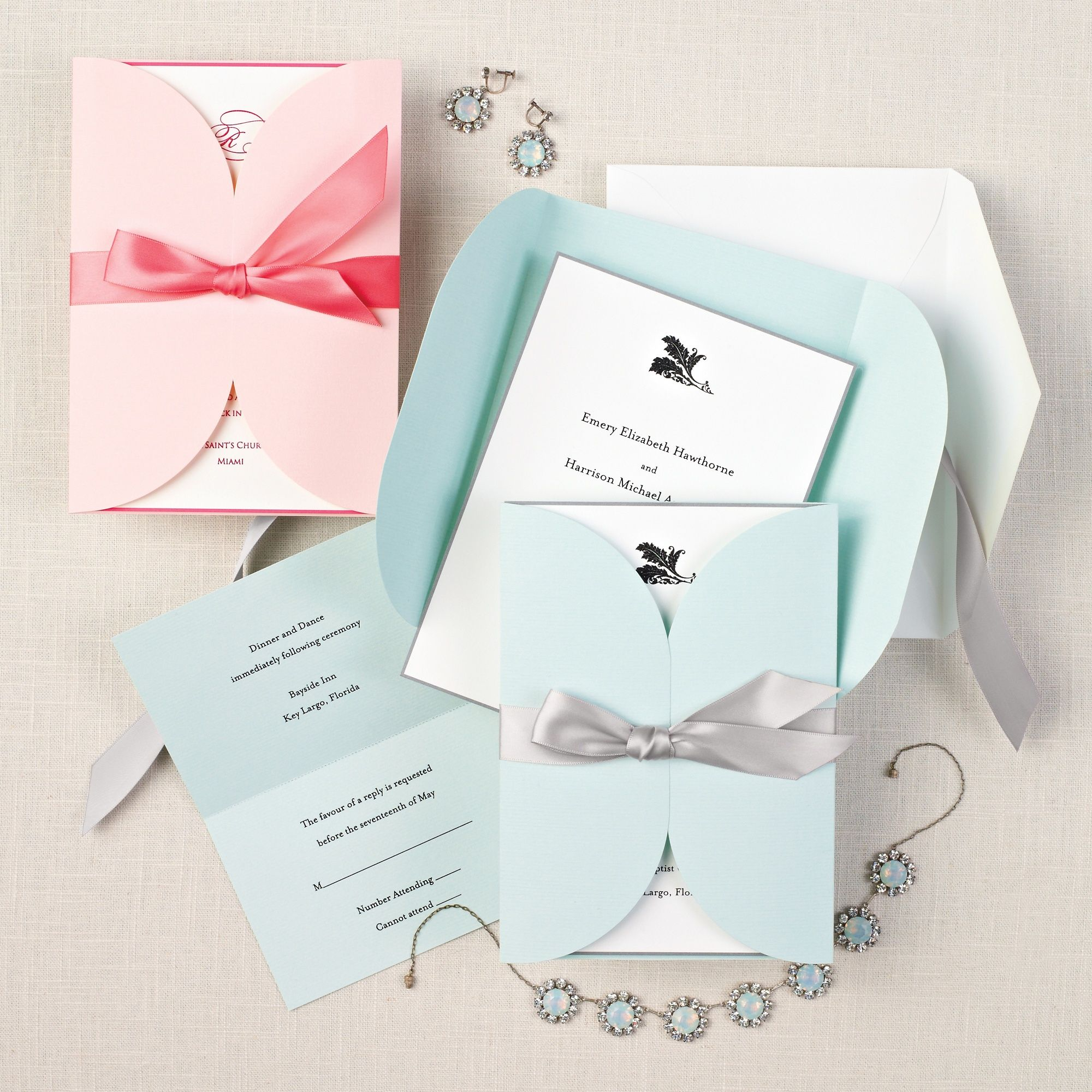 Pastel Passion Wedding Invitation