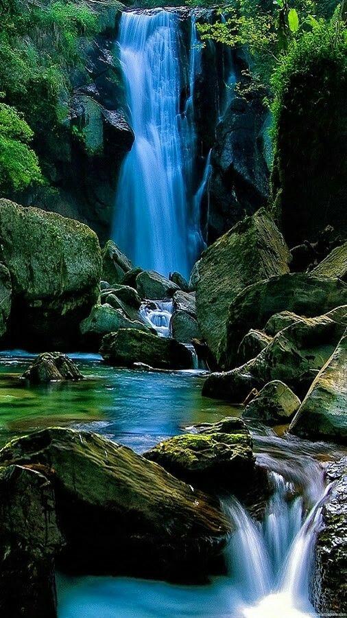 rainforest and waterfall wallpaper *beach, island, water and rainrainforest and waterfall wallpaper