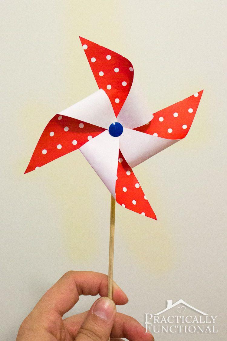 How To Make A Pinwheel {+ Free Template} | Pinterest | Amar