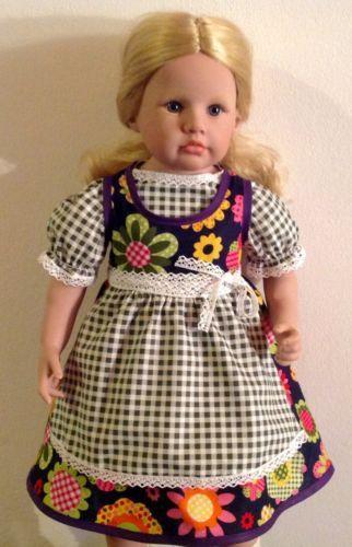 Puppenbekleidung-Puppendirndl-Puppenkleid