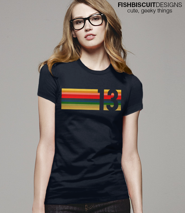 e3572e2a651 Doctor 13 13 Doctor shirt for women men kids adults. The 13th Doctor  rainbow stripe cosplay costume shirt is here!