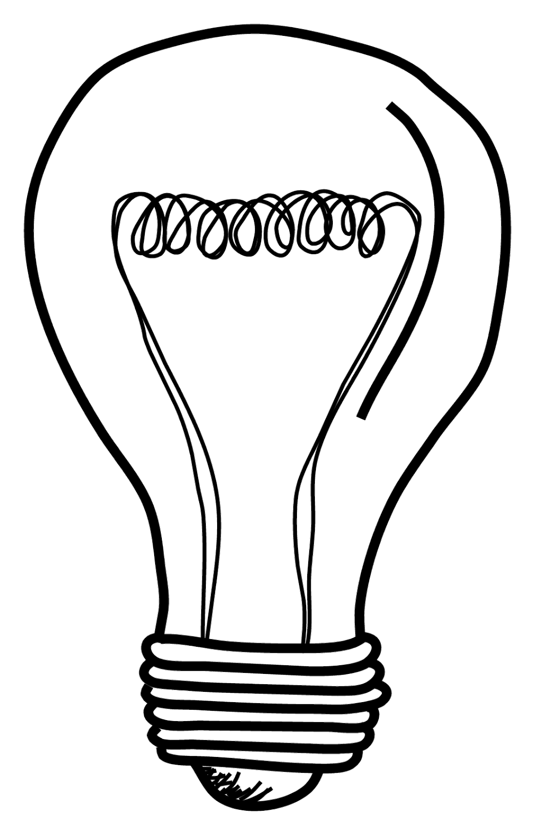 Light Bulb Png ClipArt Best Light bulb drawing, Clip