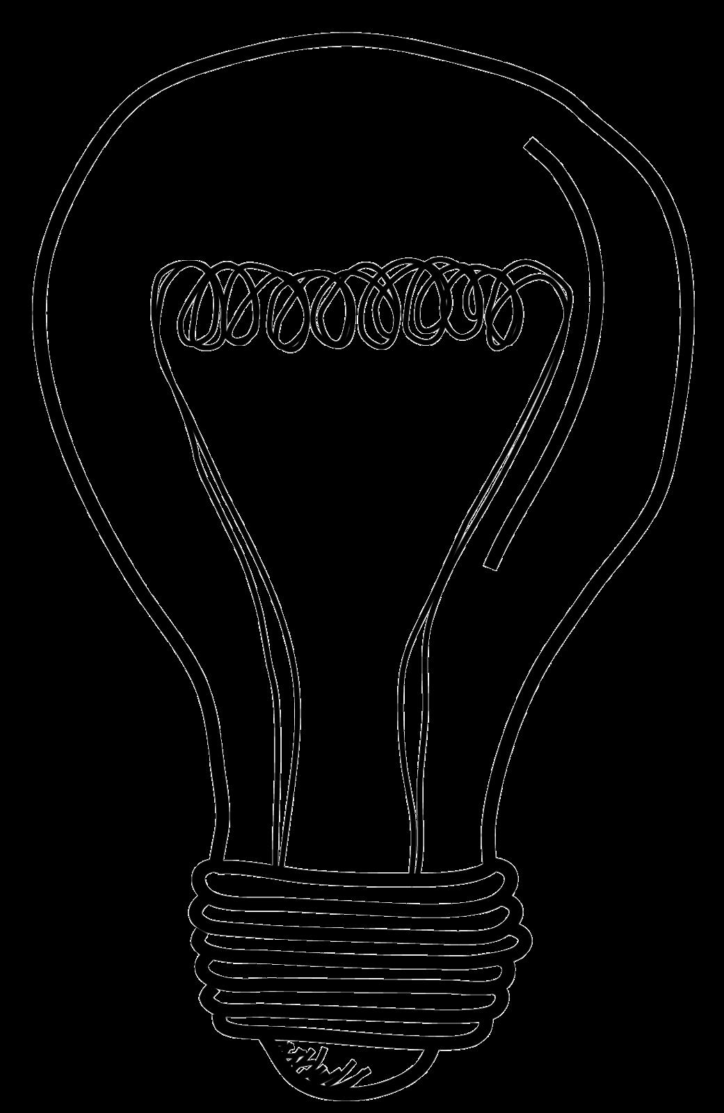 Line Art Light Bulb : Light bulb png clipart best saul bass poster