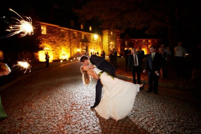 Sparkler Exit Ideas | Graylyn Estate, Elegant Fall Wedding | Logan Jarrard Photography | Leigh Pearce Weddings, Winston Salem North Carolina Wedding Planner