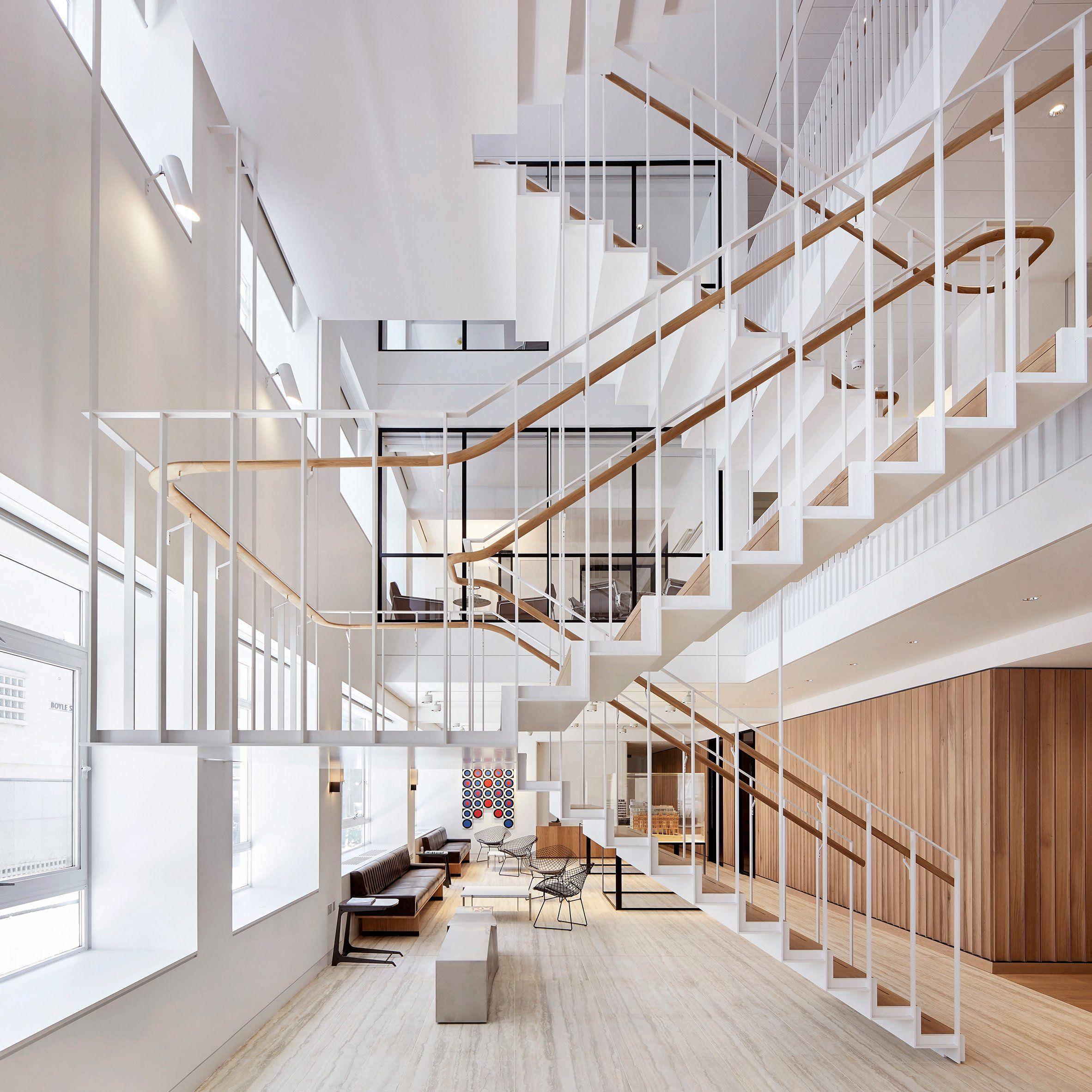 Best Piercy Company Has Cut An Atrium Through A Three Storey 400 x 300