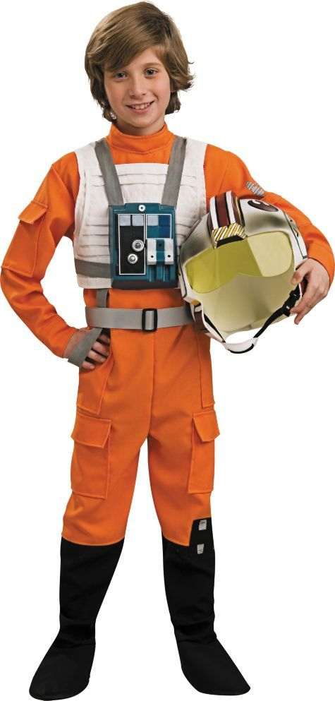 Boys Star Wars Boys X Wing Pilot Costume - Party City ...