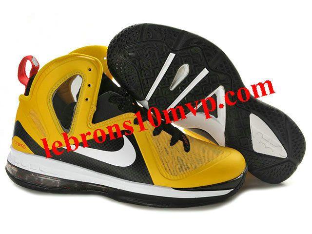 Nike LeBron 9(IX) P.S. Elite Shoes Yellow/Black
