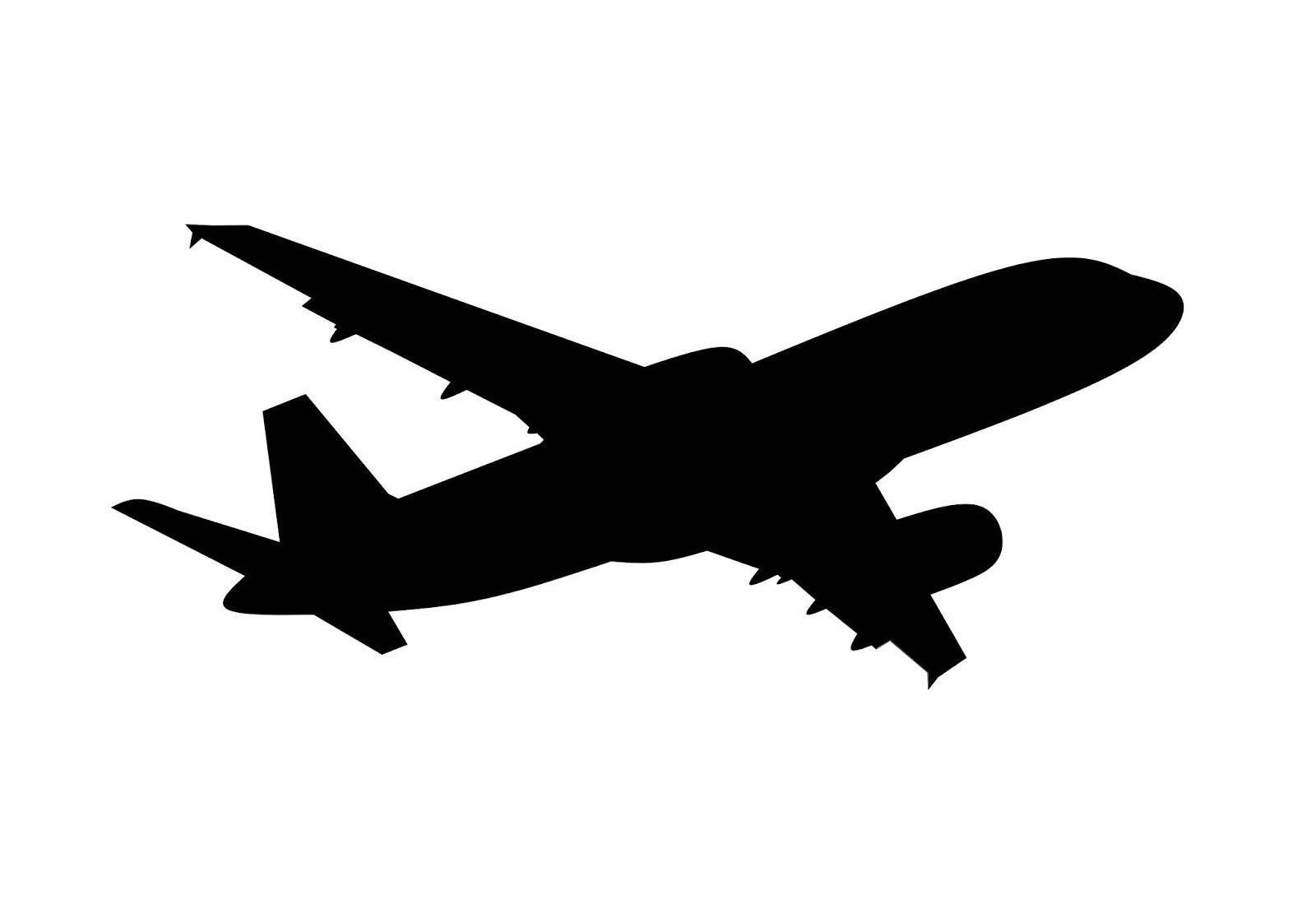 Airplane Silhouette Free Illustration Airplane Silhouette Plane Silhouette Free Illustrations