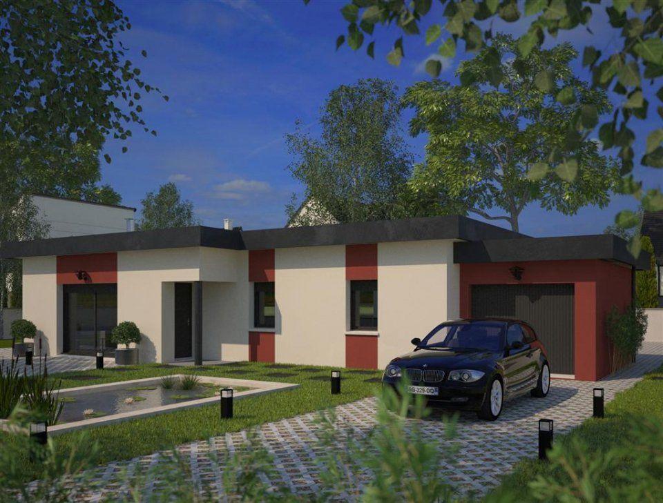 Plan maison neuve à construire - Maisons France Confort Eco-Concept ...