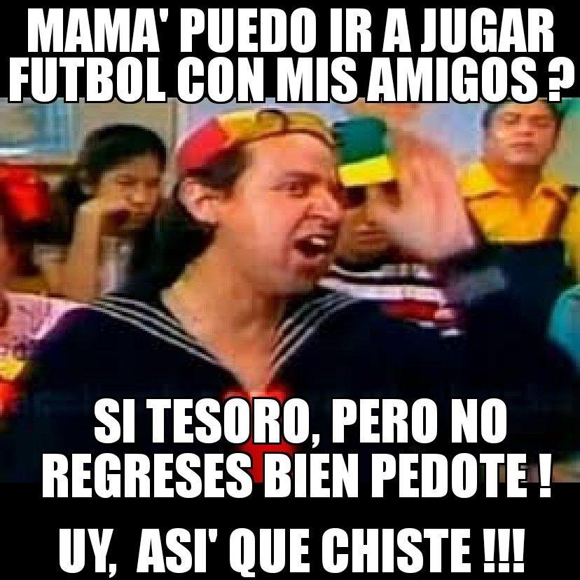 Pin De Monny Rodriguez Martha En Meme Jugar Futbol Memes Chistes