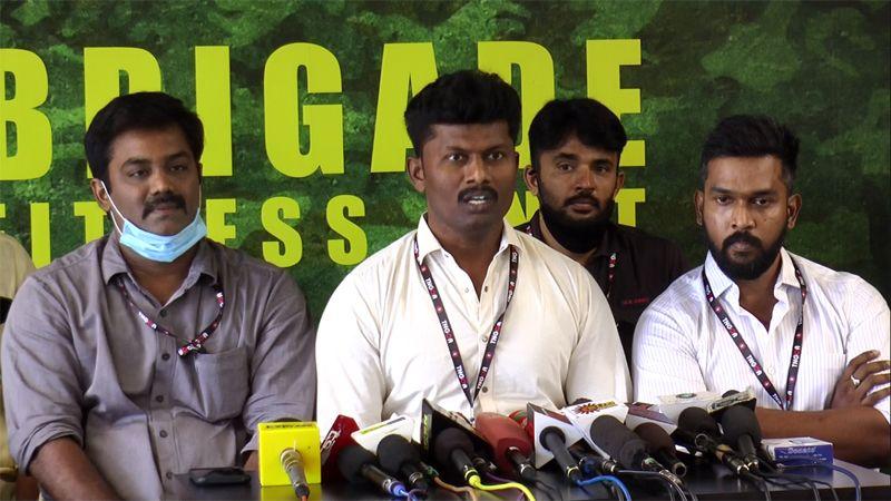 Tamilnadu Gym Owners Associaton Awareness Press Meet