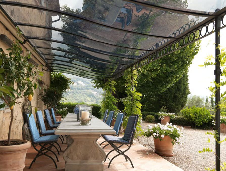Wrought Iron Pergola Ermitage Unopiu Patio Pergola Pergola Fer Forge Idees Pergola
