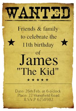 Western birthday party free printable birthday invitation template western birthday party free printable birthday invitation template greetings island m4hsunfo