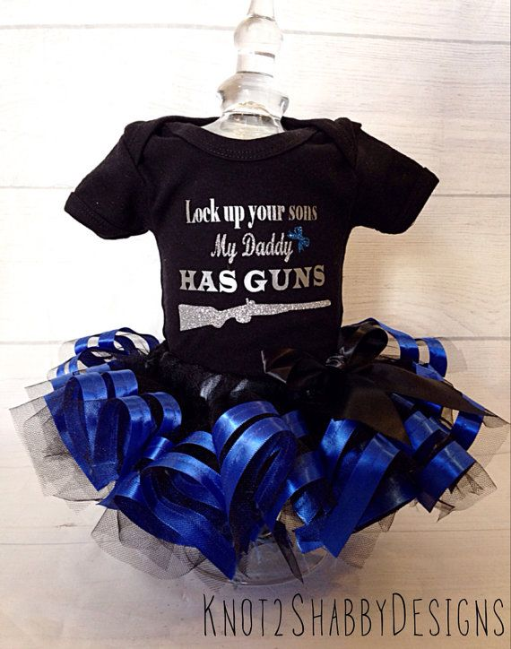 e72c4031f68c3 Police tutu The thin Blue Line by Knot2ShabbyDesigns on Etsy | Baby ...
