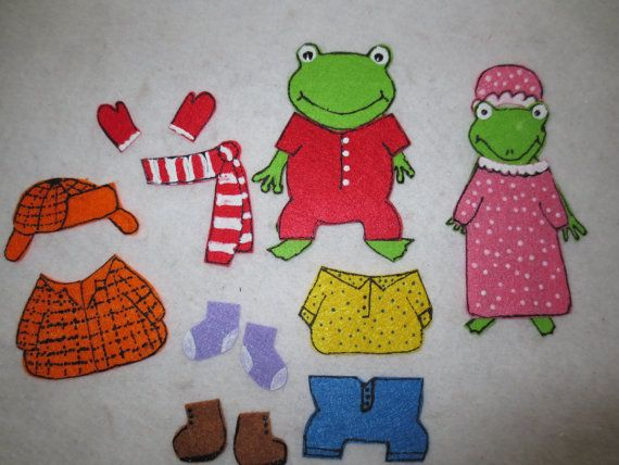 Froggy gets dressed felt set froggy books activities to go froggy gets dressed felt set pronofoot35fo Images
