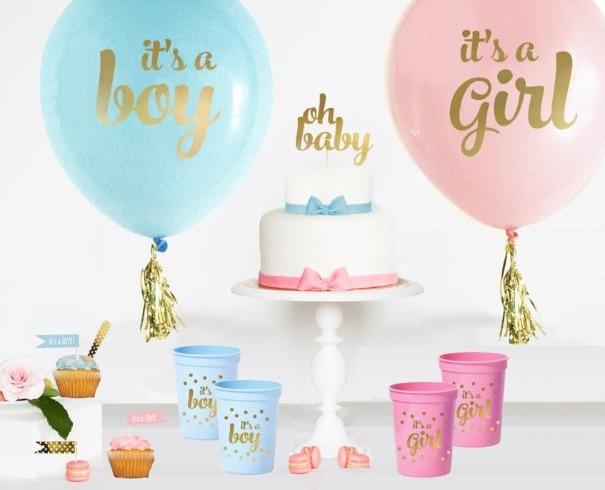 Baby Shower Ideas For Gender Reveal ~ Baby gender reveal party ideas shower