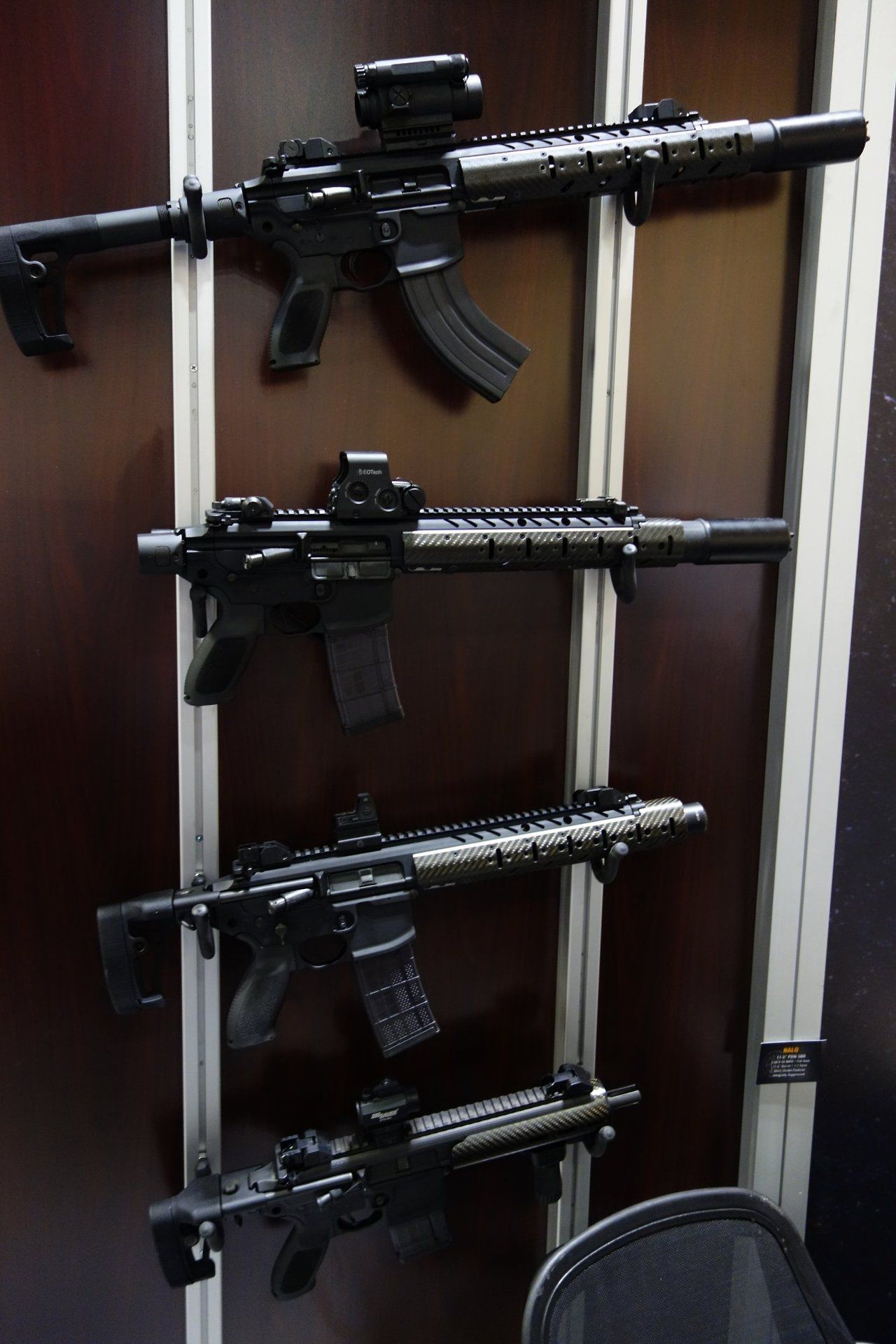 SIG Sauer MCX 5.56mm SBR various configurations