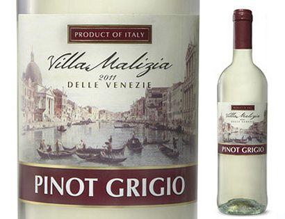 Villa Malizia Pinot Grigio 5 at Aldi Pinot grigio