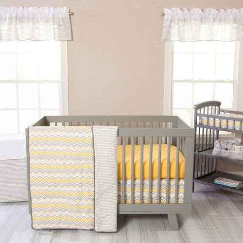 Found it at Wayfair - Seashore 3 Piece Crib Bedding Set