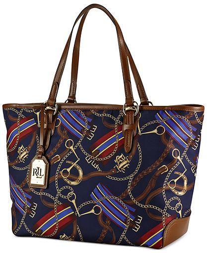 e9e6d0503c Lauren Ralph Lauren Warwick Tote - Ralph Lauren Handbags - Handbags ...