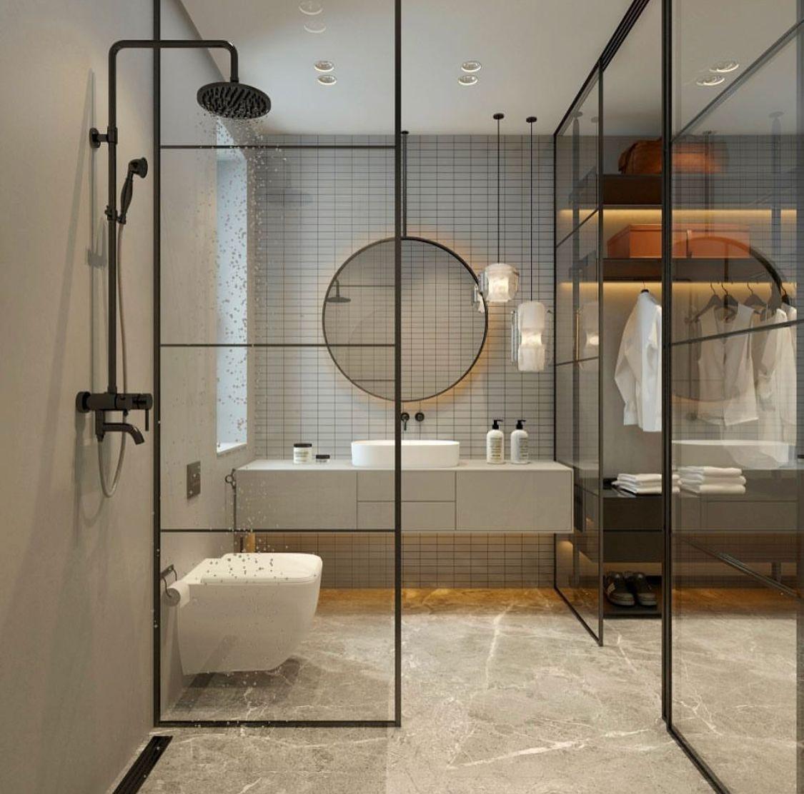 Ensuite badezimmerdesign pin by tern on hhome  pinterest  bathroom modern bathroom and