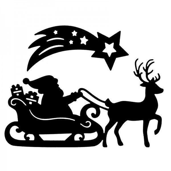 Kostenlose Malvorlage Weihnachten Weihnachtsmann 11