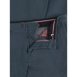 Photo of Minimalistische Chinos aus Baumwolle, Denton, Straight Fit von Tommy Hilfiger in Blau für Herren Tommy H.
