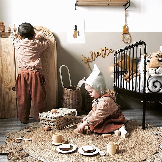 cute kids room olliella rattan luggy home in 2019 play corner rh pinterest com