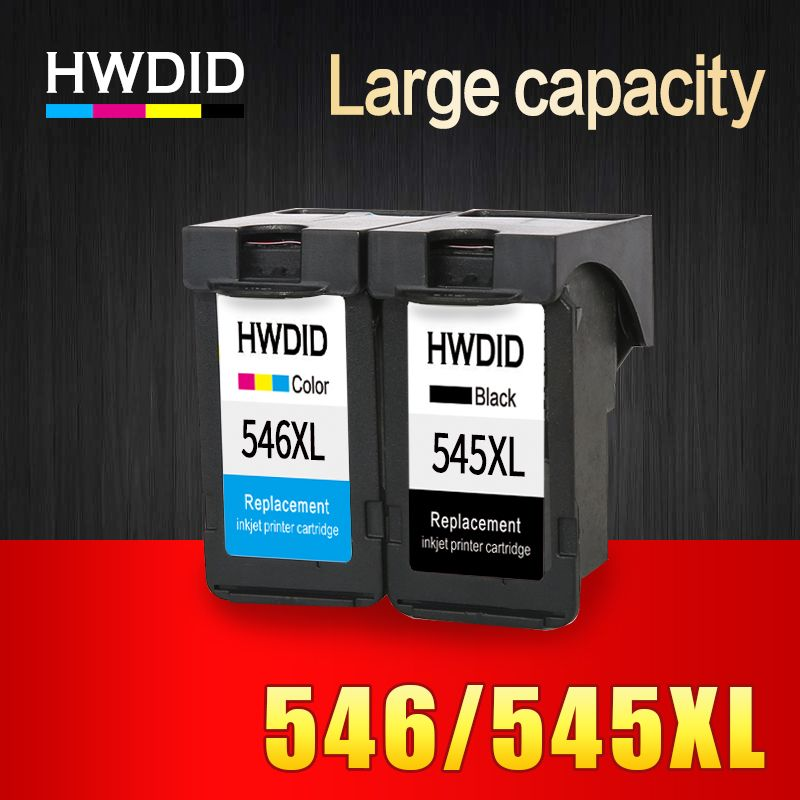 2Pack PG545 CL546 XL Ink Cartridges PG 545 CL 546 Suitable For Canon IP 2850