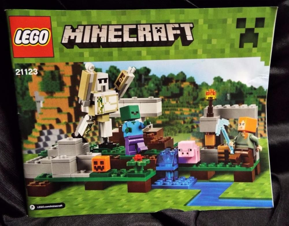 Lego 21123 Minecraft The First Night Instructions Manual Only