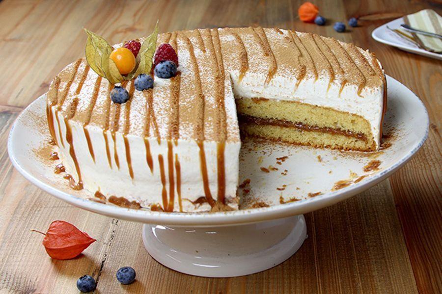 Butterkaramell-Torte