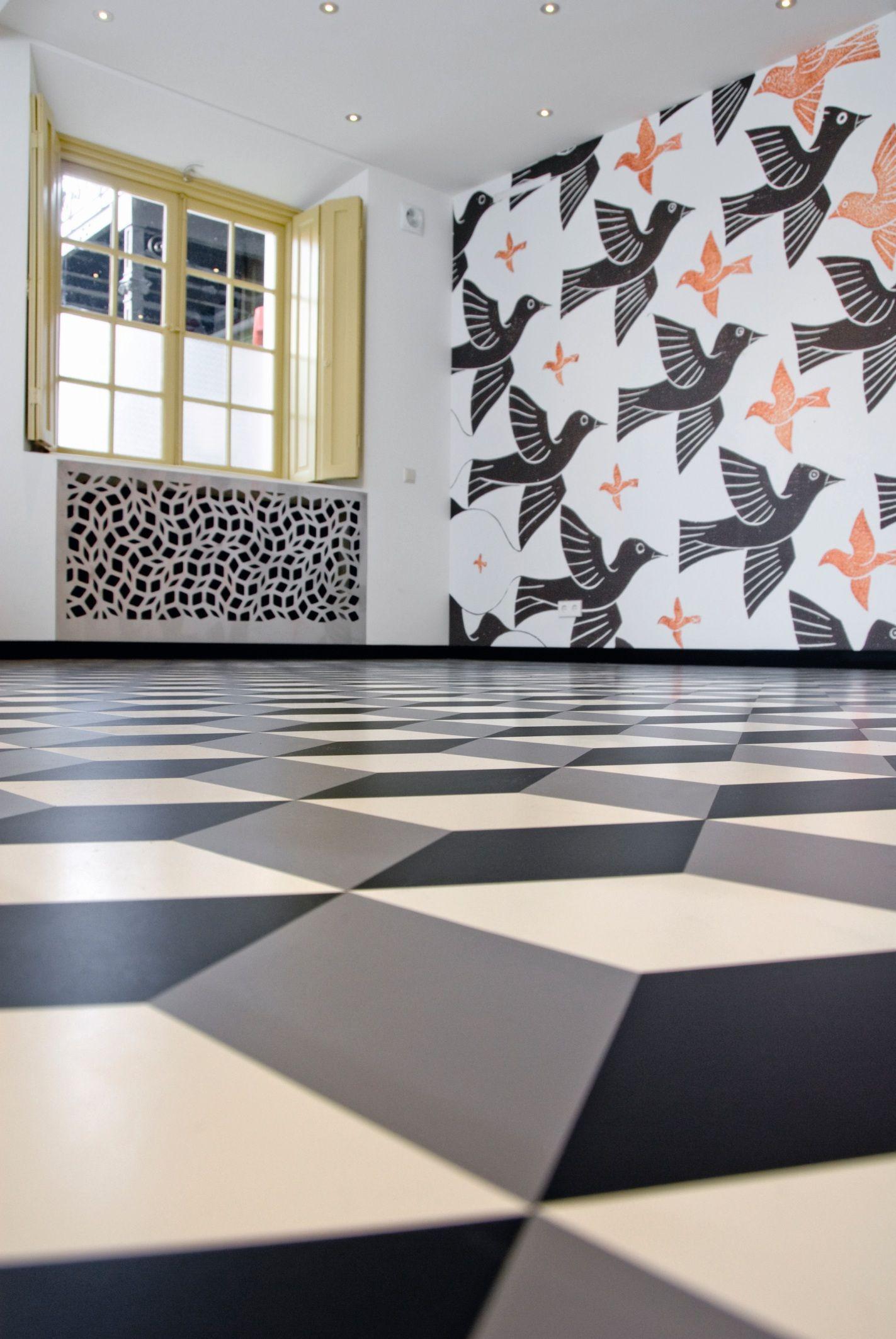 Project: Escher Museum | Rubber flooring, Rubber flooring ...