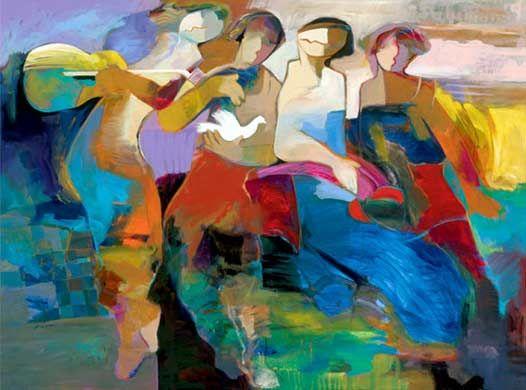 Modern Art Painting 10