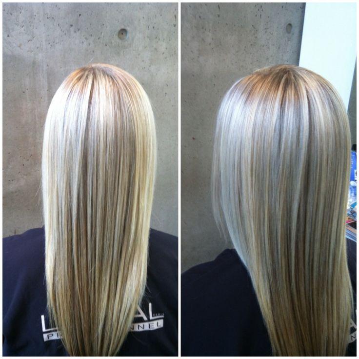 Platinum Blonde Hair With Highlights Hair Pinterest Platinum