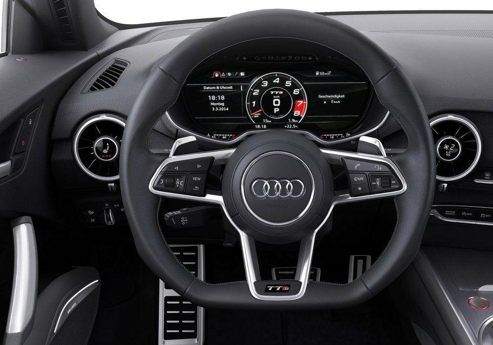 Audi Reveals Futuristic Virtual Cockpit Of New Tt The