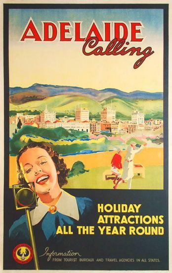 Best Place In Australia Vintage Posters Retro Poster Australian Vintage