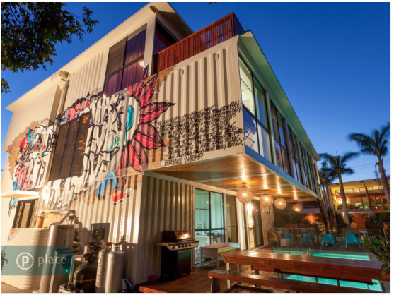 Shipping container home in Brisbane, Australia!