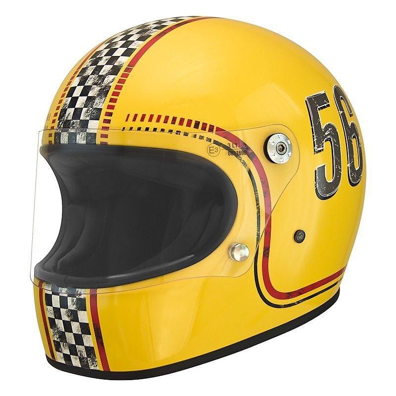 Casco Integral Vintage Premier Trophy Fl 12 Talla L ヘルメット ペイント 単車 ヘルメット