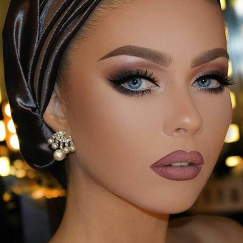 روج كشمير غامق و فاتح و مات انواع و اسعار الروج الانيق و الجذاب Stunning Makeup Hair Makeup Beauty Makeup