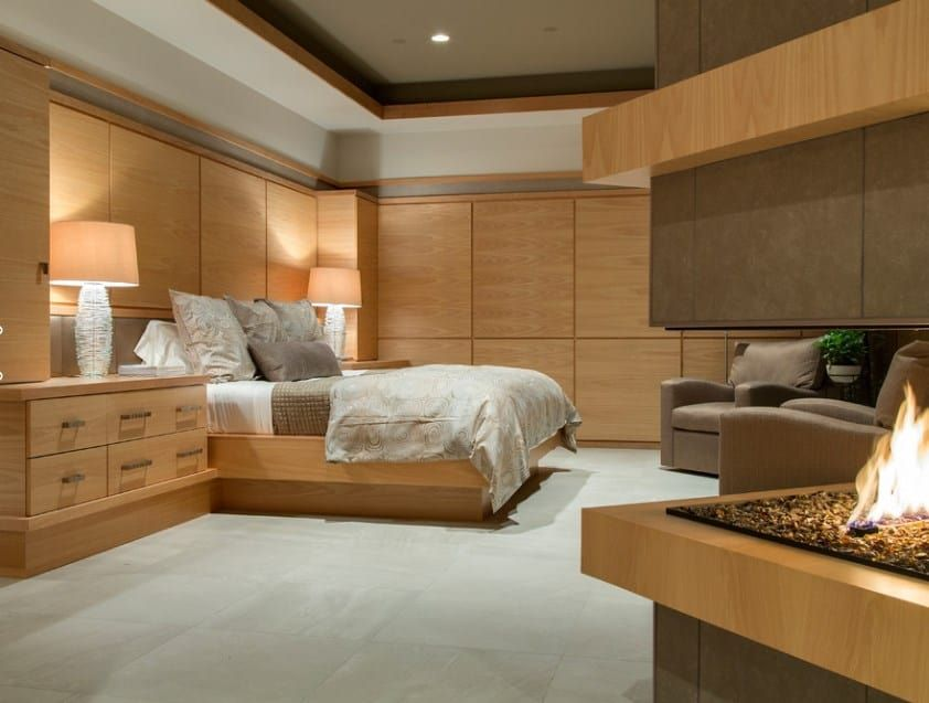 50 master bedrooms with tile flooring photos  tile
