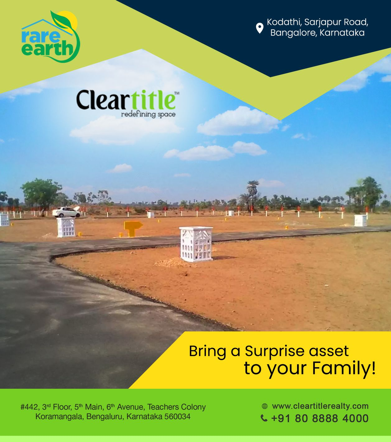 Bring a surprise asset to your family!   Real estate ...