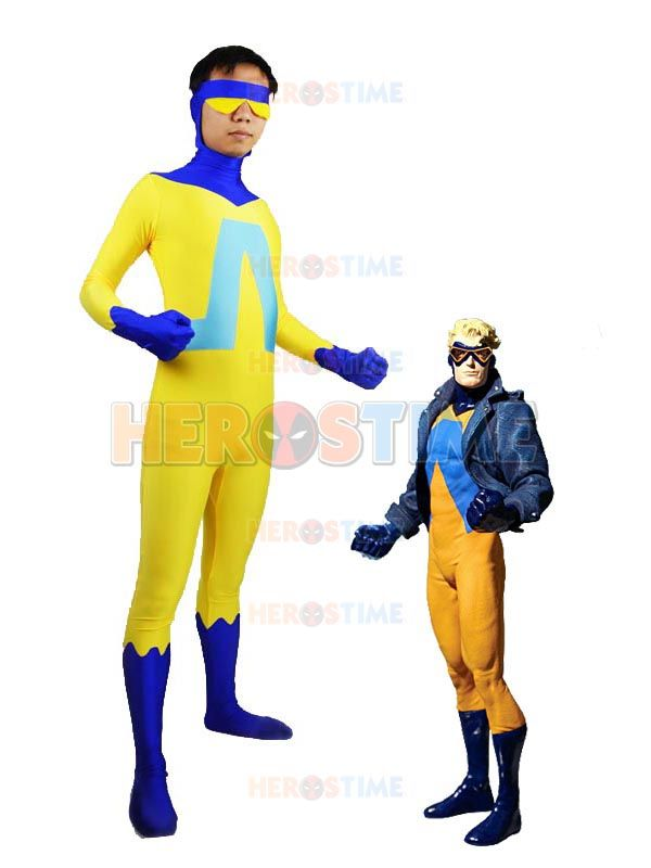 Yellow Superhero Hero Pants Adult Mens Womens Unisex Costume Accessory NEW