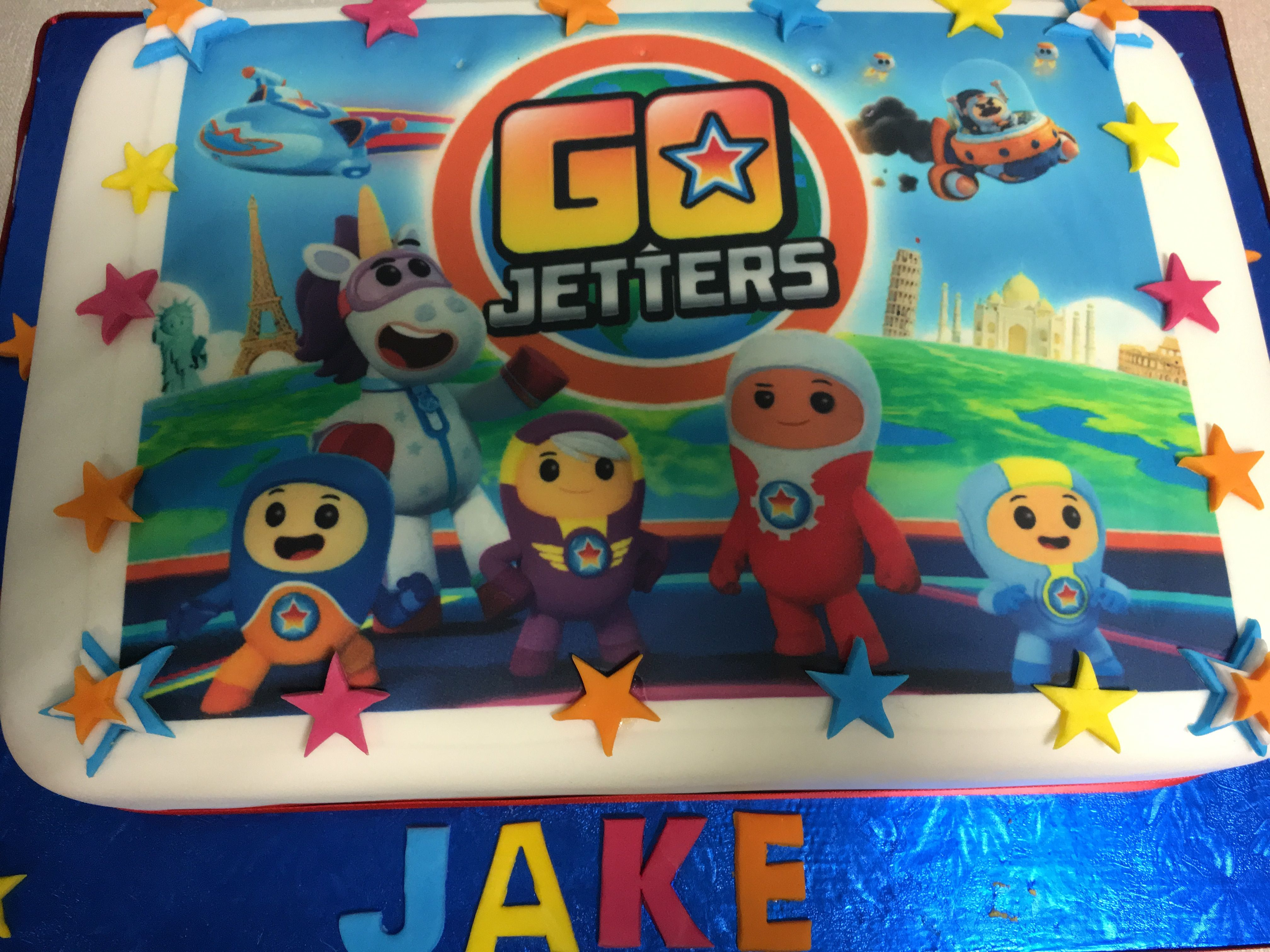 Jakes 3rd Birthday Cake birthdaycake GoJetters Cbeebies – Cbeebies Birthday Cards Youtube