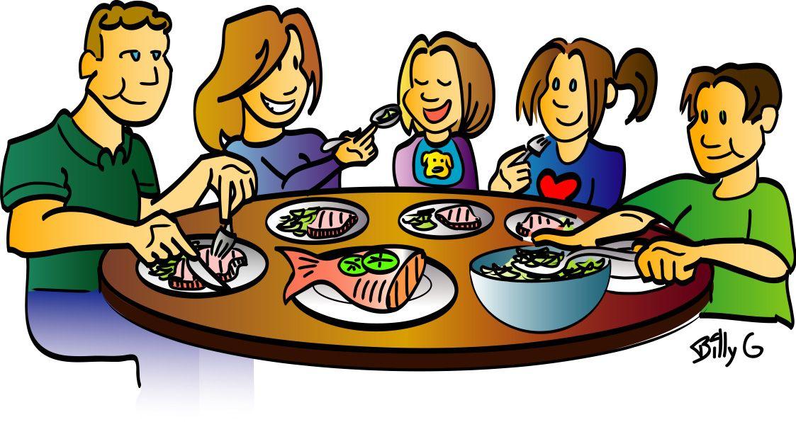 Family Dinner Clipart Clipart Panda Free Clipart Images Dining Etiquette Clip Art Family Dinner