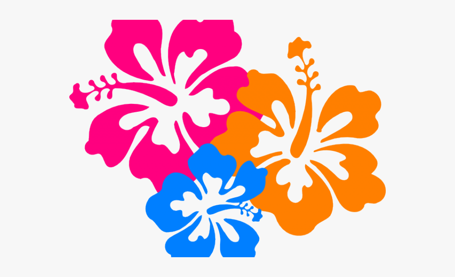 Hibiscus Flowers Clip Art In 2020 Flower Clipart Flower Clip Hibiscus Flowers