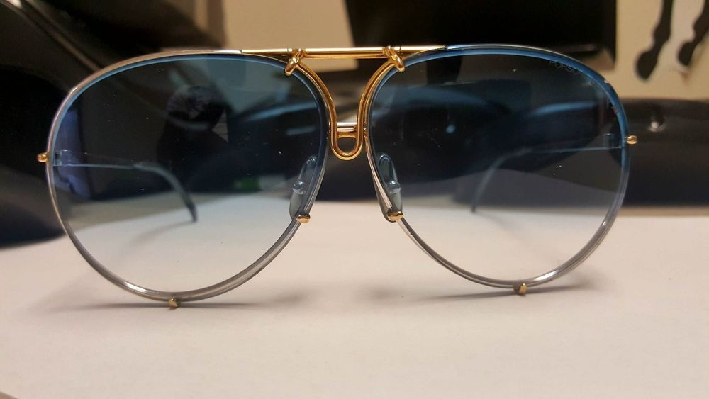 4d545c1f1d86 Porsche Design Carrera 5721 sunglasses - Vintage - Blue gradient ...