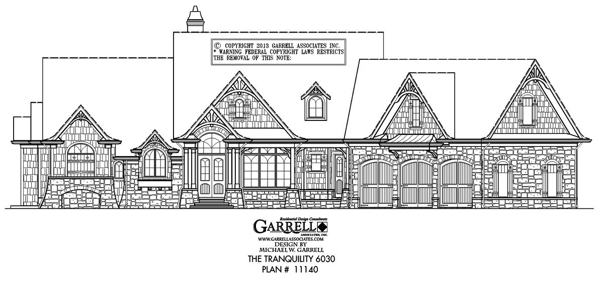 Tranquility 11140 6030 House Plans Floor Plans Craftsman Style House Plans