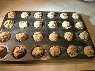 Oatmeal Chocolate Chip Mini Muffins