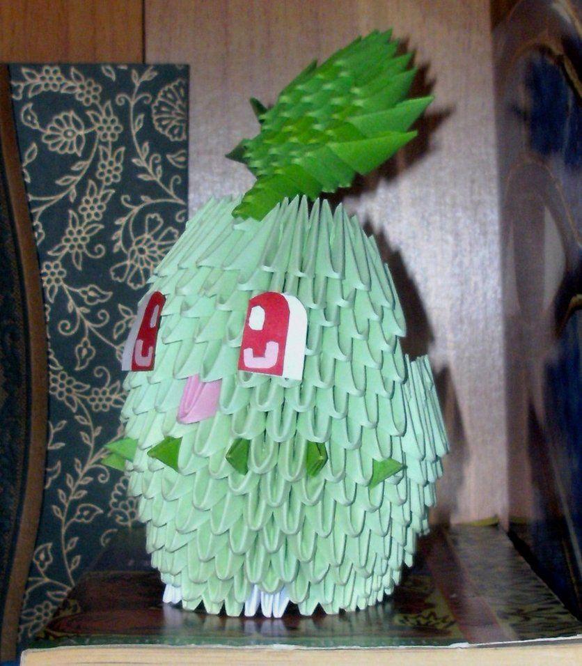 152 chikorita 3d origami by sophieekard on deviantart orgami 152 chikorita 3d origami by sophieekard on deviantart jeuxipadfo Images