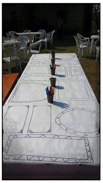 Tavolo di accoglienza